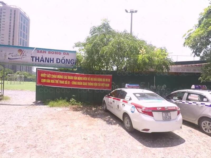 Địa chỉ của sân bóng Thành Đồng