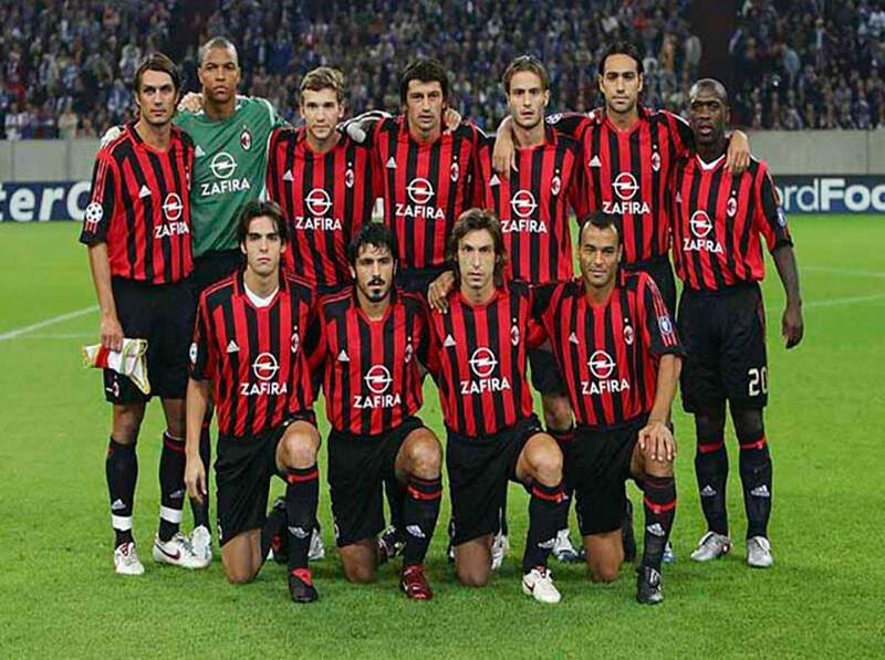Đội hình AC Milan 2007 - chiến thuật tạo nên lịch sử