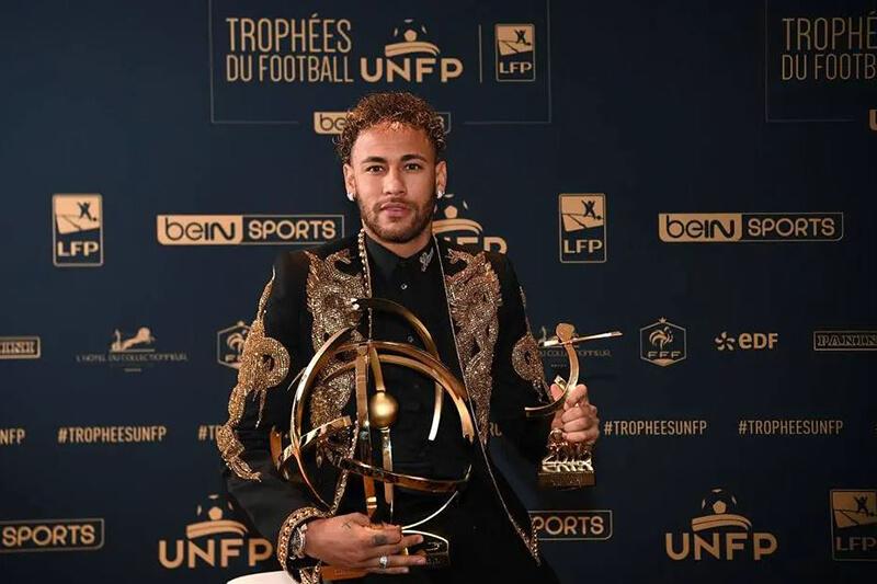 Những giải thưởng danh giá trong sự nghiệp sân cỏ của Neymar