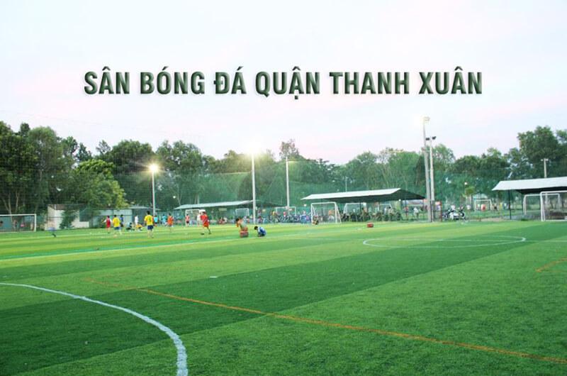 Sân bóng Hà Nội trong Khu vực Thanh Xuân