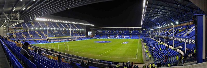 Thiết kế hiện tại của sân vận động Goodison Park