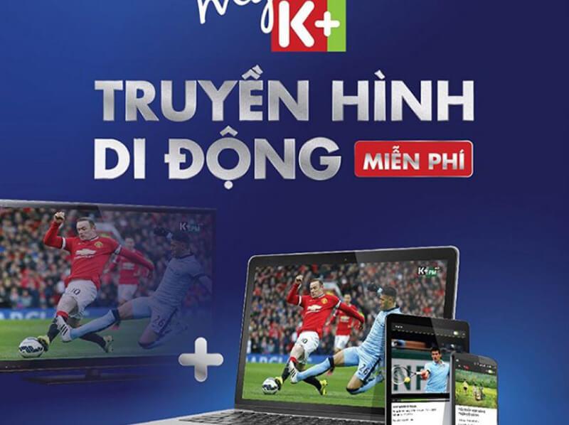 Ứng dụng xem bóng đá trên My K+