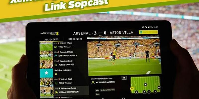 Ứng dụng xem bóng đá trực tuyến Sopcast