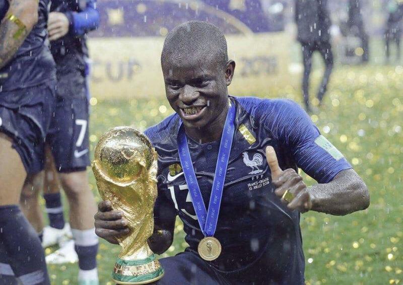 Kante Vô địch World cup với đội tuyển Pháp