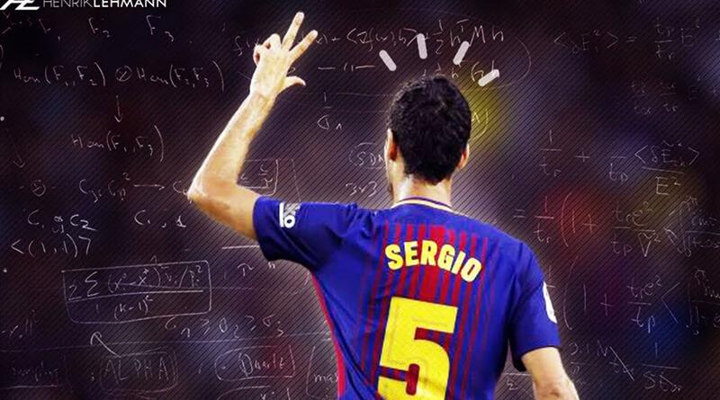 Sergio Busquest sỡ hữu lối chơi cực kì thông minh