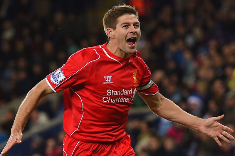 Steven Gerrard chàng tiền vệ huyện thoại của Liverpool