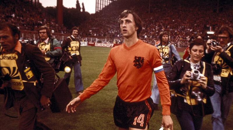 Tiền vệ huyền thoại Johan Cruyff