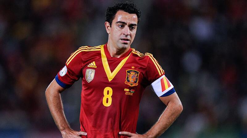 Xavi góp công lớn cho chức vô địch của Tây Ban Nha